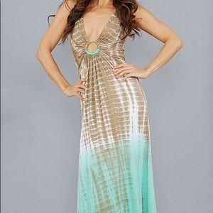 Sky Olive Kellan Maxi Dress